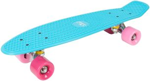 Hudora - Skateboard Retro Skate Wonders (türkis)