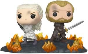Funko POP! Moment: Game of Thrones - Daenerys & Jorah B2B w/Swords, Mehrfarben ,Einheitsgröße