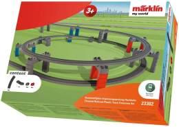 Märklin my world 23302 - Kunststoffgleis-Ergänzungspackung Hochbahn, Spur H0