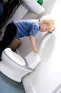 Nuby - My Real Potty - Töpfchen mit Spülgeräusch einfach zu säubern - Potty Training Toilettentrainer Für Kinder ab 18 Monaten