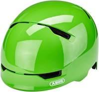 ABUS Fahrradhelm Scraper Kid 3. 0 - shiny green - 51-55 cm