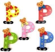 Brink Holzspielzeug Buchstabe: 'P' - 1 Stück, zufällige Auswahl, keine Vorauswahl möglich