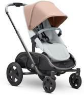 Quinny Hubb Mono XXL Shopping-Kinderwagen, großer Einkaufskorb, einfach klappbarer Kinderwagen, nutzbar ab ca. 6 Monate bis ca. 3,5 Jahre, Cork on Grey