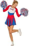 Cheerleader Kleid ohne Zubehör Gr. 34