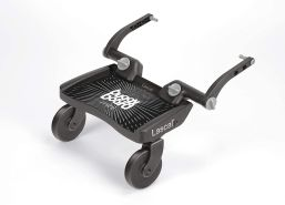 Lascal 'Mini' Buggyboard Mini Schwarz, universell einsetzbar