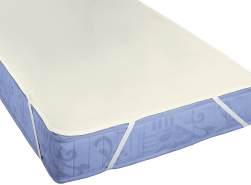 biberna Sleep & Protect Sanfor Ausrüstung Molton Matratzenauflage, Baumwolle, kakao, 1x 140x200 cm