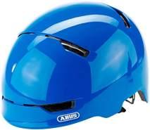 ABUS Fahrradhelm Scraper Kid 3. 0 - shiny blue - 51-55 cm