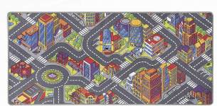 misento 'Big City' Kinderteppich 95x200 cm