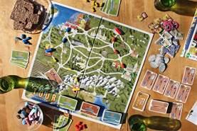 The Great Tour - Strategisches Rundreise-Brettspiel – Spiele mit Freunden und Familie um Punkte