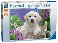 Ravensburger Puzzle 14829 - Süßer Golden Retriever - 500 Teile