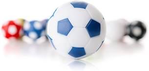 WINSPEED KICKERBALL by Robertson 35mm 10er Set (weiß-blau)