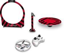 Speedlink Quadrocopter Drohnen Rennspiel - Racing Drone Game Set RC (Funkfernbedienung - Gyroskop für stabile Lage) Weiß