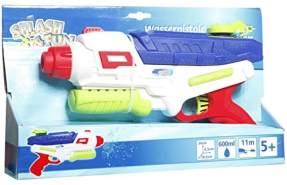 Splash and Fun Wasserpistole Schuss- und Pumpfunktion 0,6 L Tank