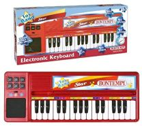 Bontempi 12 3240 Elektronik-Tisch-Keyboard, Bunt