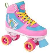 HUDORA Rollschuhe Damen Mädchen Skate Wonders, Roller-Skates, Gr. 37-38, 13152