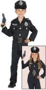 Guirca - Polizei-Kostüm, Größe 7-9 Jahre (87457.0)