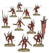 GAMES WORKSHOP 99117011221 'Daemons of Khorne Bloodletters Miniatur