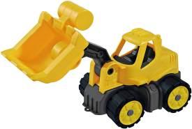 BIG - Power-Worker Mini Radlader - Fahrzeug geeignet als Sandspielzeug und für das Kinderzimmer, Reifen aus Softmaterial, perfekt für unterwegs, für Kinder ab 2 Jahren