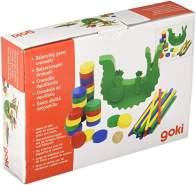 Goki 56966 Stapel-& Balancierspiel Krokodil