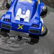 Exost von Silverlit 20252 - Mini Aquajet - Ferngesteuertes Auto - Umwandlung in Boot-Modus - 4X4 Allradmodus oder Bootmodus - Maßstab 1:18