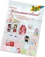 "Glorex Motivblock Mittsommerland sortiert"" ""24 x 34 cm, 26 Blatt"""""