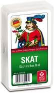ASS Altenburger 22570208 - Skat, sächsisches Bild, Kartenspiel