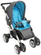 United-Kids - Sportwagen Kinderwagen QX-519 Grey-Blue
