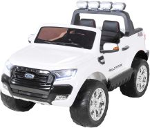Kinder Elektroauto Ford Ranger Wildtrak 4x4 Kinderauto Elektrofahrzeug Elektro (Weiß)