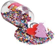 Hama Perlen 2020 Dose mit 7000 Perlen, rot/rosa