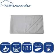 Wolkenwunder Hygieneauflage Matratzenauflage 140x200 cm mit Nässeschutz I 4 Eckgummis I wasserdicht I waschbar I atmungsaktiv