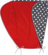 Priebes Sonnensegel Johanna UV Schutz 50+ | Sonnendach mit Seitenschutz | Universal Sonnenschutz | Sonnensegel für Kinderwagen & Buggy, Design:polka anthra
