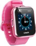 """VTech 'Kidizoom Smart Watch DX2', ab 5 Jahren, LCD Farb-Touchdisplay (1,41"""", 128 x 128 Pixel), inkl. vielen lustigen Uhrmotiven zum Wechseln und aufregenden Bewegungsspielen, pink"""