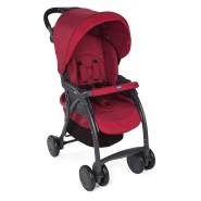 Chicco 'Simplicity' Buggy Polyester/Aluminium rot/schwarz