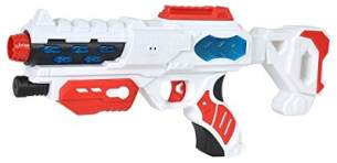 Simba 108042207 - Planet Fighter Space Blaster Laserpistole, 38 cm
