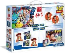 Clementoni 18058 Edukit 4 in 1 - Toy Story 4, Mehrfarben