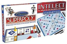 Tischspiel Superpoly + Intelect Falomir