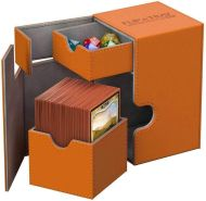 Ultimate Guard UGD010781 Box Flip´n´Tray Deck Hülle 100 Plus XenoSkin, Orange, Standardgröße