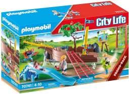 Playmobil City Life 70741 'Abenteuerspielplatz mit Schiffswrack', 73 Teile, ab 4 Jahren