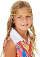 TecTake dressforfun Mädchenkostüm Dancinggirl, farbenfrohes Oberteil | Inkl. Gürtel und Haarband (3-4 Jahre)