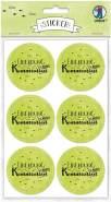 """URSUS 24 Sticker """"Einladung zu meiner Kommunion"""", apfelgrün"""