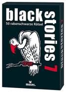 moses. black stories 7 | 50 rabenschwarze Rätsel | Das Krimi Kartenspiel