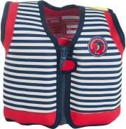 Konfidence Jacket Kinder Schwimmweste Schwimmhilfe Neopren Hamptons Navy Stripe 6 - 7 Jahre