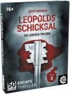 50 Clues - Leopolds Schicksal, Escape-Thriller zum Mitspielen und Rätseln, Exitgame, Rätselspiel Krimispiel, Leopoldtrilogie, Teil 3