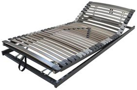 XXL Lattenrost Perbix 200 kg - Rahmen KF verstellbar, 100x200 cm