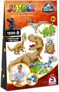 """Schmidt Spiele 46132 'JIXELZ """"Jurassic World""""' 1500 Teile, ab 6 Jahren, 5 Motive"""