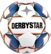 Derbystar Erwachsene Stratos TT, 1156500167 Fußball, Weiss blau orange, 5