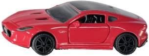 SIKU 1520, Jaguar F-Type R Sportwagen, Metall/Kunststoff, Rot, Kombinierbar mit SIKU Modellen im gleichen Maßstab