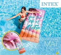 Intex - California Dream aufblasbare Matratze, 178x84cm, 1 Stück, sortierte Modelle