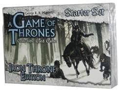 A Game of Thrones Collectible Card Game: Iron Throne Edition Starter Set