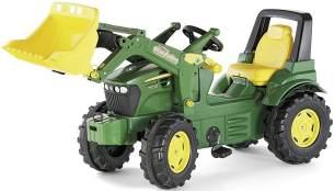 Rolly Toys 710027 - rollyFarmtrac John Deere 7930 Tretfahrzeug (für Kinder ab drei Jahre, Flüsterlaufreifen, verstellbarer Sitz)